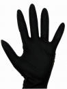 Latex-Handschuhe Diablo schwarz L