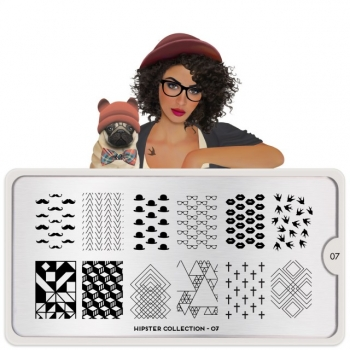 MoYou Hipster 07 Stamping Platte
