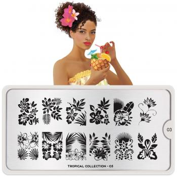 MoYou Tropical 03 Stamping Platte