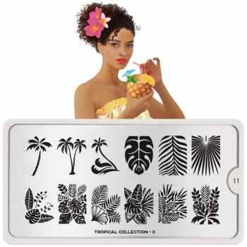 MoYou Tropical 11 Stamping Platte