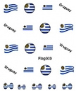 Sheeets of Stickers Uruguay