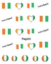 Sheeets of Stickers Ivory Coast