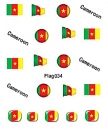 Sheeets of Stickers Cameroon