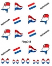 Sticker Netherlands