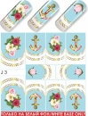 Nail Tattoo-Sticker, J 03