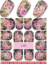 Nail Tattoo-Sticker, J 40
