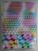 Magic Nail Sticker Kreis Regenbogen