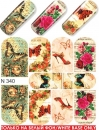 Nail Tattoo-Sticker, N 340