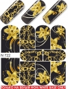 Nail Tattoo-Sticker, N 722