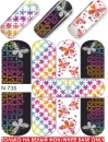 Nail Tattoo-Sticker, N 735