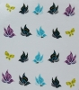 Stickers Butterfly colored