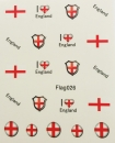 Sheeets of Stickers England